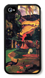 Landscape with Peacocks iPhone 4/4S Case by Paul Gauguin