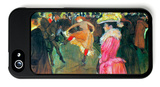 Ball in the Moulin Rouge iPhone 5 Case by Henri de Toulouse-Lautrec