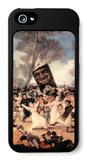 The Funeral of Sardina iPhone 5 Case by Francisco de Goya