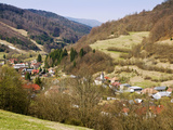 Village in the Valley, Myto Pod Dumbierom, Brezno, Slovakia Photographic Print by Green Light Collection