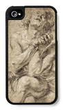 Study of Daniel in the Lion's Den iPhone 4/4S Case by Peter Paul Rubens
