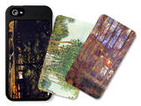 Tress in Landscape iPhone 5/5S Case Set by Alfred Sisley
