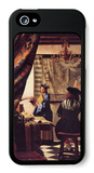 The Allegory of Painting iPhone 5 Case by Jan Vermeer
