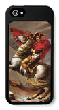 Napoleon Crosses the Great St. Bernard Pass iPhone 5 Case by Jacques-Louis David