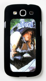 A Young Woman with a Fan Galaxy S III Case by James Tissot