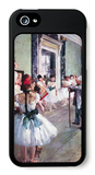 The Dance Class iPhone 5 Case by Edgar Degas