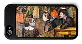 At the Moulin De La Gallette iPhone 5 Case by Henri de Toulouse-Lautrec