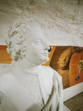 Close-up of a Bust of Russian Czar Peter the Great Photographic Print by Green Light Collection