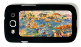 At the Beach of Guernesey Galaxy S III Case by Alfred Sisley
