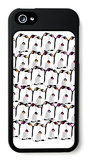 Warm Penguin Pattern iPhone 5 Case par  Avalisa