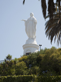 Statue of Virgin Mary Atop the Santuario De La Inmaculada Concepcion Photographic Print by Green Light Collection