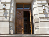 Open Door of a Government Building Photographic Print by Green Light Collection