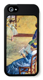 During the Dance Lessons  Madame Cardinal iPhone 5 Case by Edgar Degas