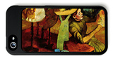 The Fashion Shop iPhone 5 Case by Edgar Degas
