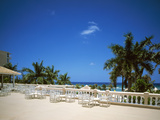 Tourist Resort at the Waterfront, Montego Bay, St. James Parish, Jamaica Photographic Print by Green Light Collection