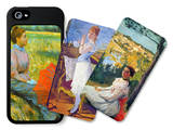 Women iPhone 5/5S Case Set by Frederic Bazille