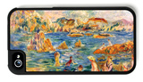 At the Beach of Guernesey iPhone 4/4S Case by Alfred Sisley