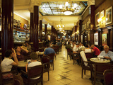Interiors of Famous Cafe Tortoni, Avenida De Mayo, Buenos Aires, Argentina Photographic Print by Green Light Collection