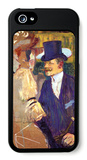 The English Man at the Moulin Rouge iPhone 5 Case by Henri de Toulouse-Lautrec
