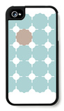 Seagreen Taupe Cutout iPhone 4/4S Case by  Avalisa