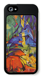 Deer in Forest iPhone 5 Case by Franz Marc