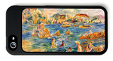 At the Beach of Guernesey iPhone 5 Case by Alfred Sisley