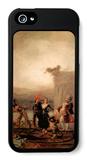 Comicos Ambulantes iPhone 5 Case by Francisco de Goya
