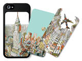 Kowloon Walled City, Manhattan, Stir the Waters iPhone 5/5S Case Set by  HR-FM