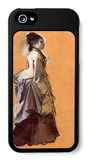 Young Lady in the Road Costume iPhone 5 Case by Edgar Degas