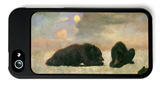 Grizzly Bears iPhone 5 Case by Albert Bierstadt