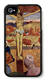 Yellow Christ iPhone 4/4S Case by Paul Gauguin