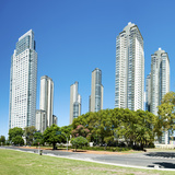 Buildings in a City, Renoir Towers, Puerto Madero, Buenos Aires, Argentina Photographic Print by Green Light Collection