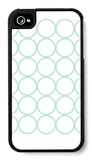 Seagreen Circles iPhone 4/4S Case by  Avalisa