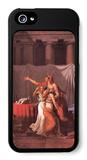 Brutus Liktoren Bring His Dead Sons iPhone 5 Case by Jacques-Louis David