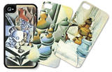Women iPhone 4/4S Case Set by Juan Gris