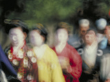 Abstract Jidai-Matsuri Kyoto Photographic Print by Green Light Collection