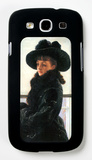 Portrait of Kathleen Newton Galaxy S III Case by James Tissot