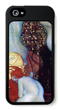 Goldfish iPhone 5 Case by Gustav Klimt
