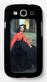 Portrait of Mme. L.L. Galaxy S III Case by James Tissot