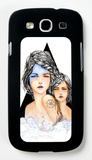 Aqua Galaxy S III Case by Charmaine Olivia