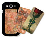 Goblet and Florals Galaxy S III Case Set by Giovanni Giardini