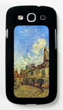 Street in Nevers Galaxy S III Case by Johan-Barthold Jongkind