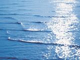 Sunlight Reflecting on Water Waves Photographic Print by Green Light Collection