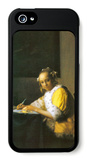 Woman in Yellow iPhone 5 Case by Jan Vermeer