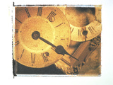 Clock USA Photographic Print by Green Light Collection