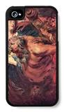 Drunken Silenus iPhone 4/4S Case by Sir Anthony Van Dyck