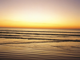 Sunset View Over Sea Photographic Print by Green Light Collection