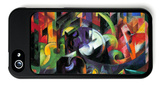 Abstract with Cattle iPhone 5 Case by Franz Marc