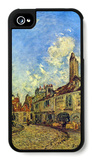 Street in Nevers iPhone 4/4S Case by Johan-Barthold Jongkind