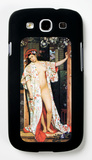 A Woman in Japan Bath Galaxy S III Case by James Tissot